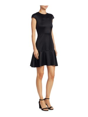 Theory essential flared dress