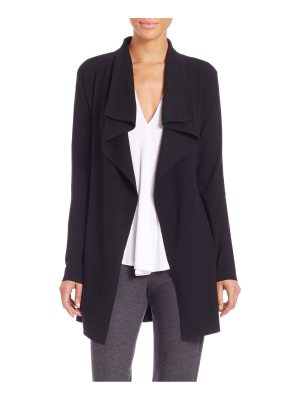 Theory trincy e evian draped stretch wool cardigan