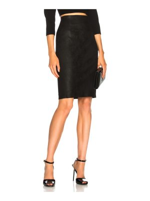 ThePerfext Amsterdam High Waisted Leather Skirt