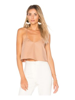 Tibi Cropped Tank With Shirred Back