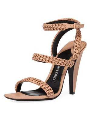 TOM FORD Chain Strappy 105mm Sandals