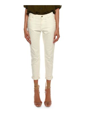 TOM FORD Mid-Rise Cropped Boyfriend-Style Jeans