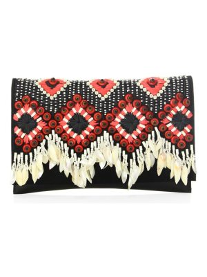 Tory Burch brooke embellished clutch