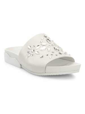 Tory Burch brae crystal-embellished leather slides