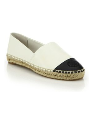Tory Burch colorblock leather espadrille flats