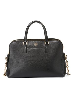 Tory Burch Georgia Pebbled Leather Satchel Bag