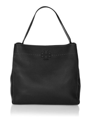 Tory Burch mcgraw leather hobo bag