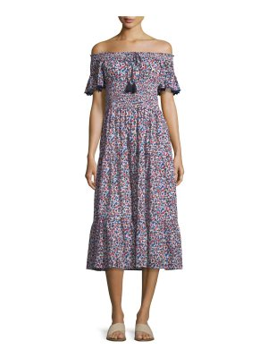 Tory Burch Wildflower Embroidered Beach Coverup Dress