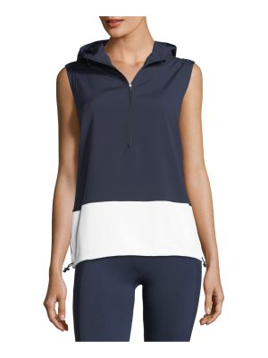 Tory Sport Hooded Running Performance Vest