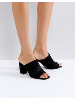 Truffle Collection Mule Flared Heel Sandals