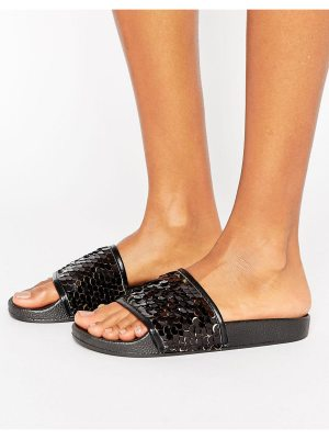 Truffle Collection Sequin Slide