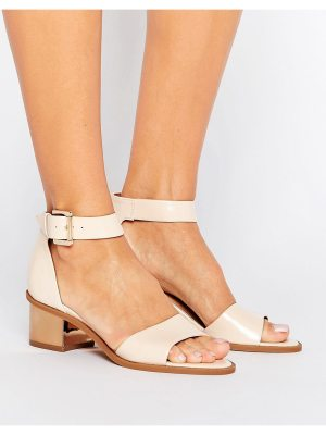 Truffle Collection Metallic Heel Mid Sandal