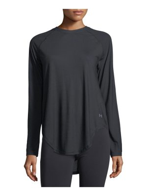 Under Armour Breathe Open-Back Long-Sleeve Performance Top