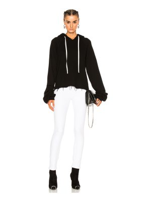 Unravel for FWRD Oversize Sleeve Cashmere Hoodie