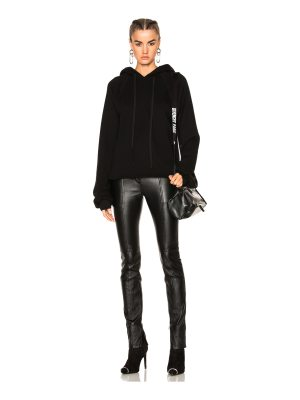 Unravel Oversized Sleeve Cashmere Hoodie