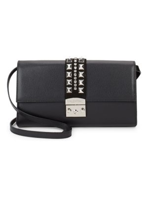 Valentino by Mario Valentino Cocotte Leather Shoulder Bag