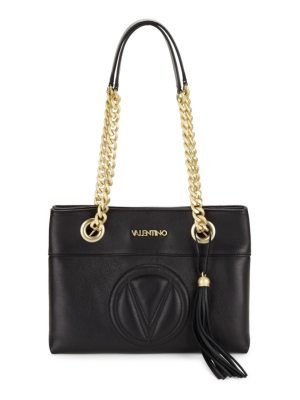 Valentino by Mario Valentino Kali Chain Strap Leather Bag