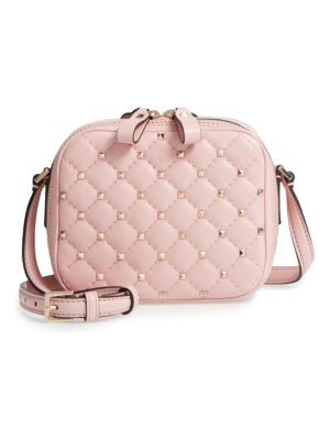 Valentino rockstud leather camera crossbody bag