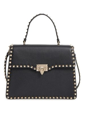 Valentino rockstud leather satchel