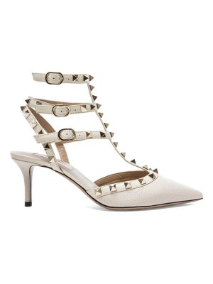 Valentino Rockstud Leather Slingbacks T.65