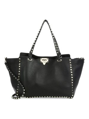 Valentino rockstud medium leather satchel