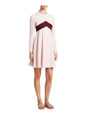 Valentino silk colorblock dress