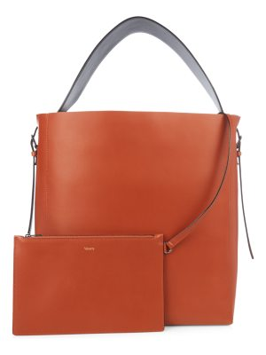 VALEXTRA Sacca smooth-leather tote