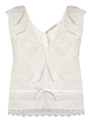 Vanessa Bruno Giwette broiderie-anglaise cotton top