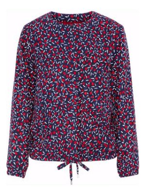 Vanessa Seward printed silk top