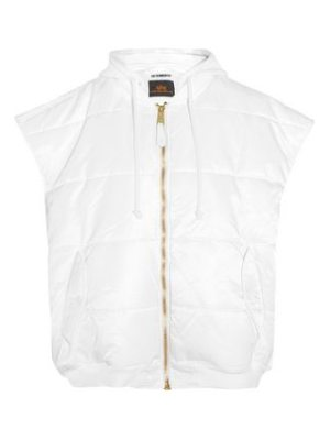 VETEMENTS + alpha industries oversized quilted shell gilet