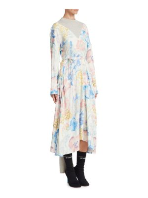 VETEMENTS back panel midi dress
