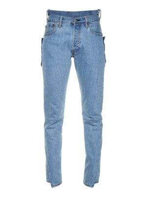 VETEMENTS Reworked high-rise skinny jeans