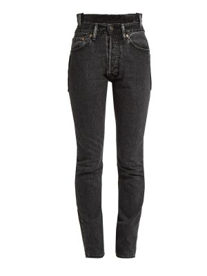 VETEMENTS X Levi's reworked high-waisted skinny jeans
