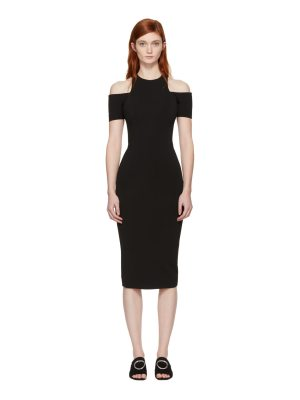 Victoria Beckham Fitted Cut-Out Dress