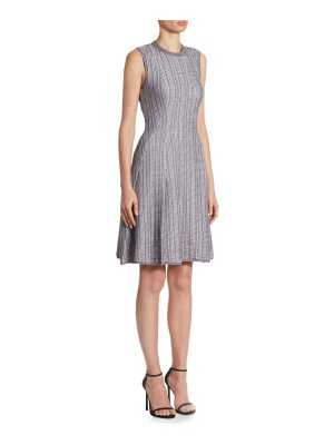 Victoria Beckham ribbed fit-&-flare dress