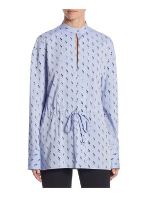 Victoria by Victoria Beckham cotton drawstring shirt