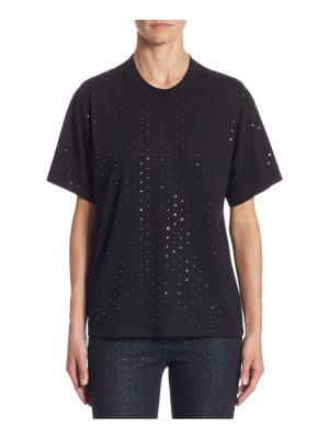 Victoria by Victoria Beckham embellished cotton tee