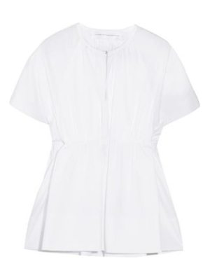 Victoria by Victoria Beckham gathered cotton