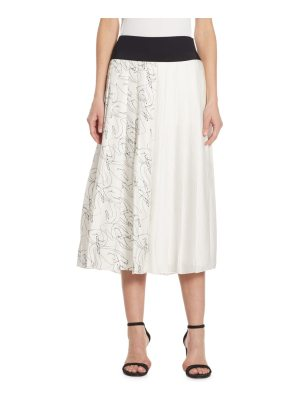 Victoria by Victoria Beckham pleated a-line skirt
