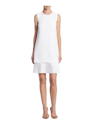 Victoria by Victoria Beckham pleated shift dress
