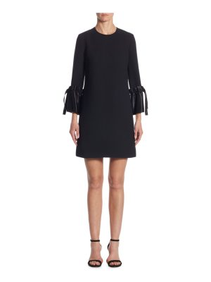 Victoria by Victoria Beckham tie cuff shift dress