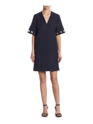 Victoria by Victoria Beckham wool lace shift dress