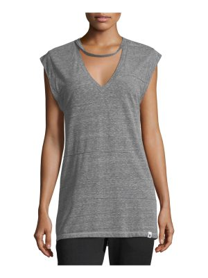 Vimmia Pacific Pintuck Heathered Performance Tank