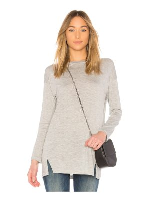 Vince Long Sleeve Drapey Top