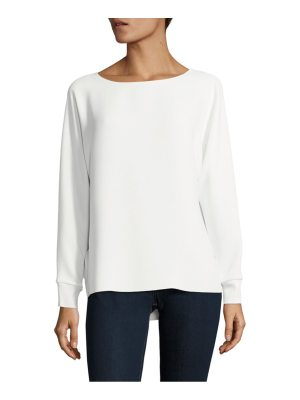 Vince Solid Long-Sleeve Top
