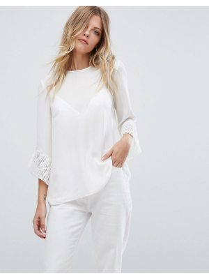 Warehouse Pleated Top