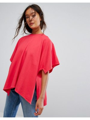 Weekday Floaty Oversized T Shirt