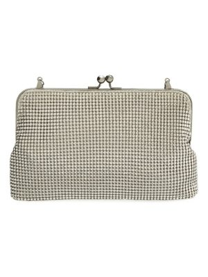 Whiting & Davis mesh clutch
