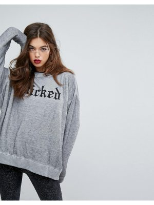 Wildfox Gothic Wicked Sweatshirt