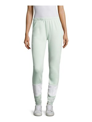 Wildfox knox colorblock sweatpants